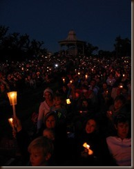 carols by candlelight by Hazel Motes on flickr